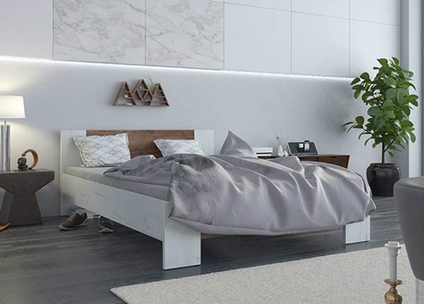 Sänky VEGA 140x200 cm + patja PRIME STANDARD BONELL TF-142216