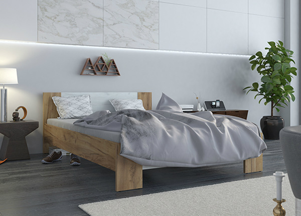 Sänky VEGA 140x200 cm + patja PRIME STANDARD BONELL TF-142217