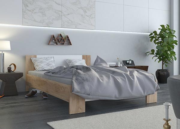 Sänky VEGA 140x200 cm + patja PRIME STANDARD BONELL TF-142218
