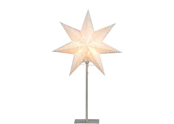 Valkoinen tähti SENSY jalalla 55 cm AA-142402