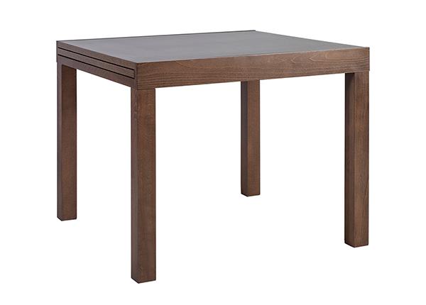 Jatkettava ruokapöytä TIFANI 90x90-180 cm EV-142424