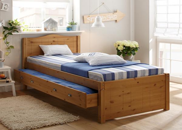 Sänky kahdella vuodevaatelaatikolla 140x200 cm FX-142455