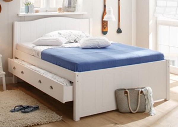 Sänky kahdella vuodevaatelaatikolla 140x200 cm FX-142456