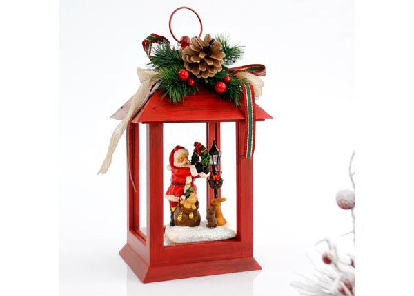 LED joulukoristelyhty SANTA RT-142790