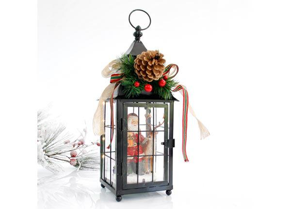 LED joulukoristelyhty SANTA RT-142791