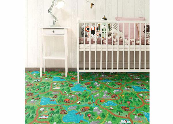 Lastenhuoneen matto METSÄMATKA
