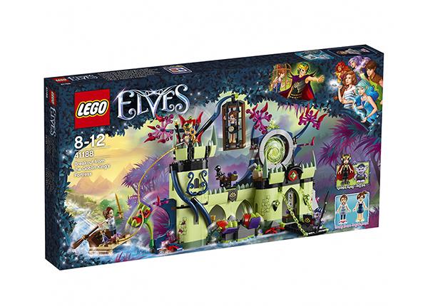 Pako peikkokuninkaan linnakkeesta LEGO ELVES