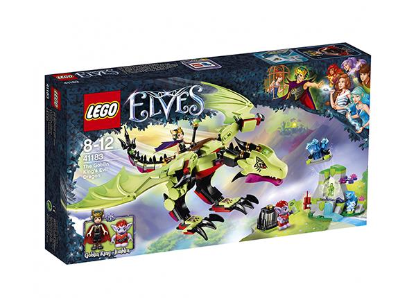Mennikäiskuninkaan ilkeä lohikäärme LEGO Elves
