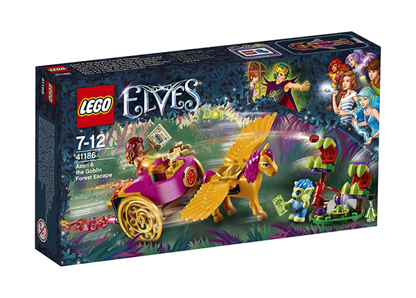 Azari ja pako peikkometsästä LEGO Elves