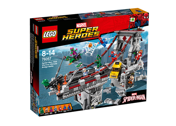 Viimeinen taistelu sillalla LEGO Super Heroes Spider-Man