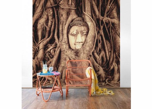 Fleece-kuvatapetti BUDDHA IN AYUTTHAYA
