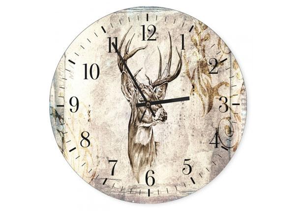 Kuvallinen seinäkello Deer 4