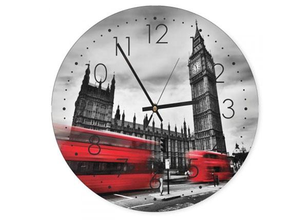 Seinäkello London tower kuvalla