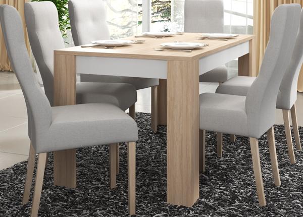 Jatkettava ruokapöytä 140-180x80 cm CM-145046