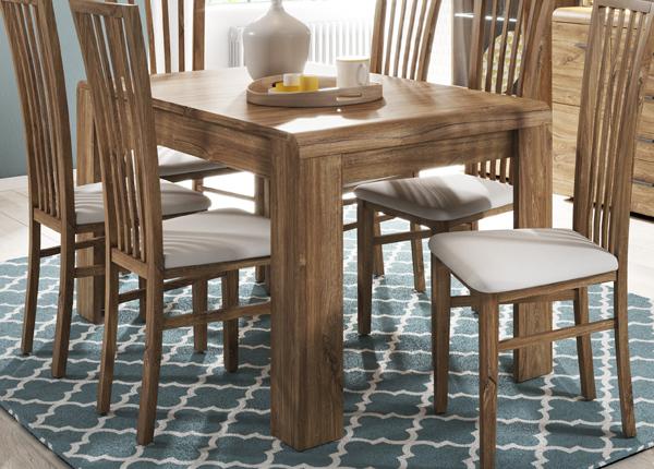 Jatkettava ruokapöytä 144,5-184,4x80 cm CM-145146