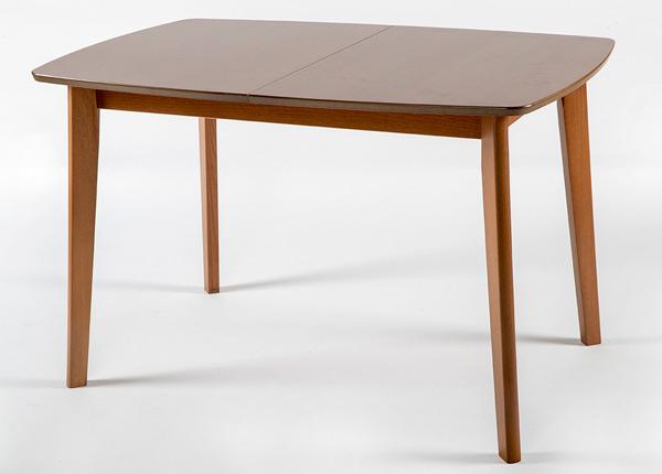 Jatkettava ruokapöytä BARI 80x120-150 cm, pähkinä GO-145356