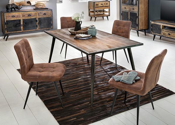 Ruokapöytä IRON 140x70 cm