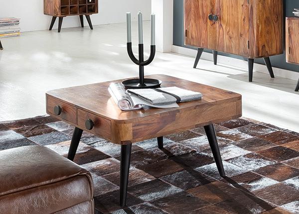 Sohvapöytä KNOB 70x70 cm
