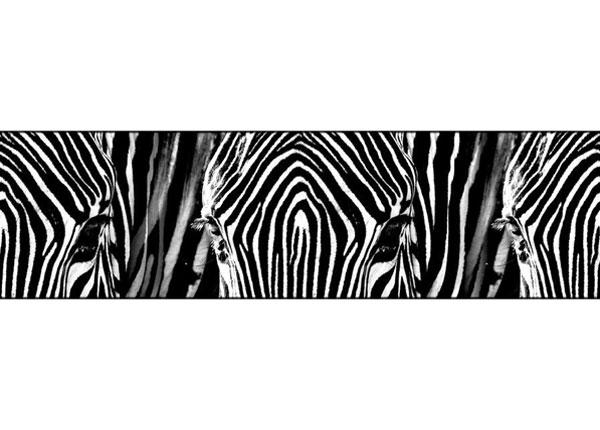 Seinätarra Zebra 14x500 cm