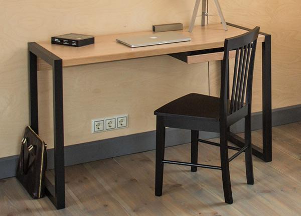 Tietokonepöytä RENFREW, tammi/musta