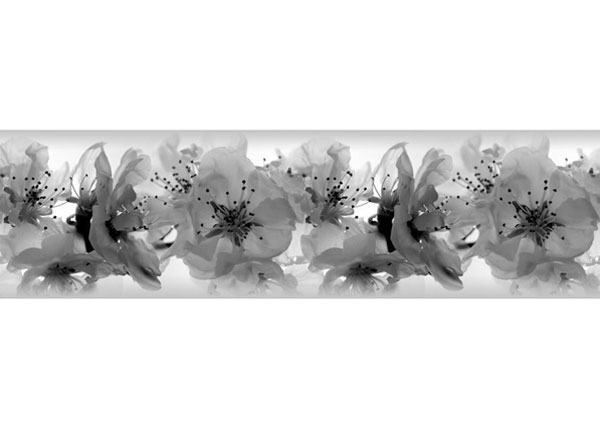 Seinätarra Orchids 14x500 cm