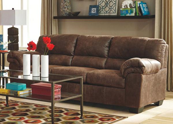 Sohva Mirtel 3-ist, ruskea