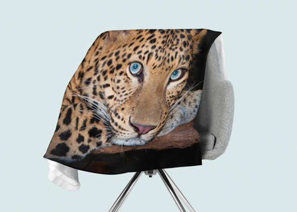Fleecepeitto Cheetah Eyes 130x150 cm ED-146529