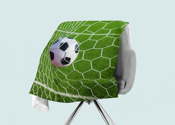 Fleecepeitto Goal 130x150 cm ED-146541