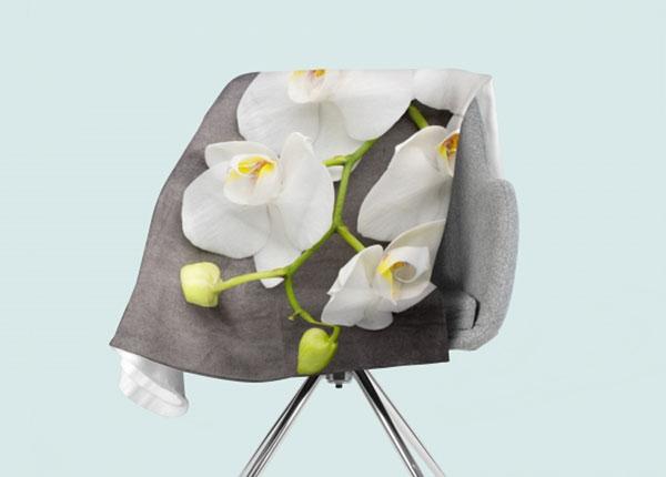 Fleecepeitto Gray and White 130x150 cm ED-146543