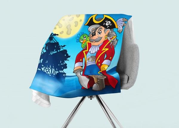 Fleecepeitto Pirate 130x150 cm ED-146552