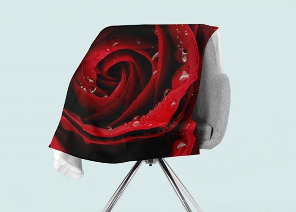 Fleecepeitto Red Rose 130x150 cm ED-146555