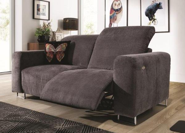Recliner 2-istuttava sohva jalkatukimekanismilla Lotta
