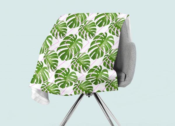 Fleecepeitto Tropical Palm Leaves 130x150 cm ED-146609