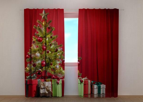 Puolipimentävä verho Christmas Surprise 240x220 cm ED-146949
