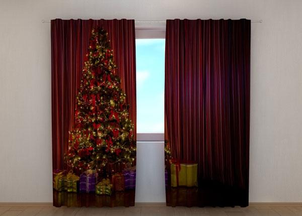 Puolipimentävä verho Christmas Tree 1 240x220 cm ED-146951
