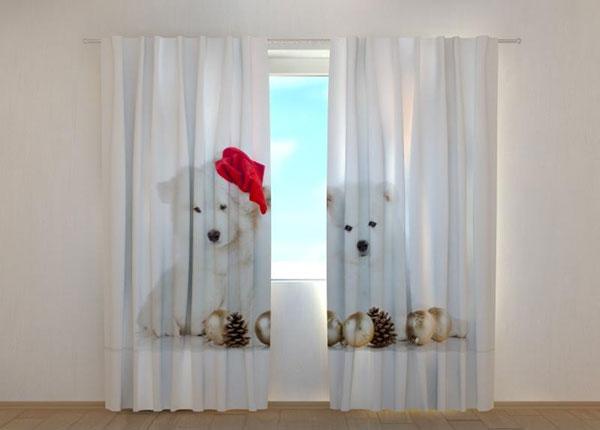 Pimennysverho Christmas Puppiess 240x220 cm ED-146962