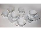 Kahvikupit ja lautaset WING, 6 kpl NN-37393