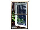 Hyönteissuoja-rullaverho ikkunan raameihin 60x150 cm FS-38293