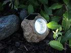Puutarhavalaisin aurinkopaneelilla KIVI LED AA-38698