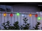 Värikkäät puutarhavalot 10 LED AA-38912