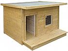Lämpöeristetty koirankoppi+terassi BOSS TN-39104