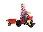 Traktori polkimilla PLASTO RO-39929