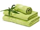 Bambupyyheliina vihreä 100x150 cm AN-43647