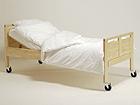 Sänky pyörillä SENIORI 90x200 cm, koivu KT-43731
