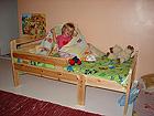 Jatkettava lastensänky KIKU, mänty VM-4400