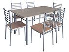 Ruokapöytä EMMA + 6 tuolia AQ-44664