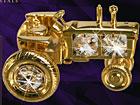 Koriste kullatuilla Swarovski kristalleilla TRAKTORI MO-47055
