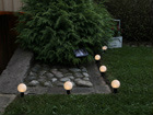 Aurinkopaneeli pihavalaisinketju 2in1 AA-47210