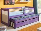 Lasten sänkysarja 2-osainen, mänty 80x180 cm TF-50512