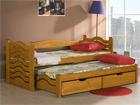 Lasten sänkysarja 2-osainen MIKO, mänty 80x180 cm TF-51163